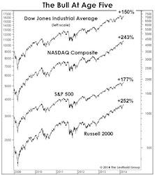 The Bull Market Turns Five