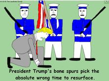 President Trump's Bone Spurs