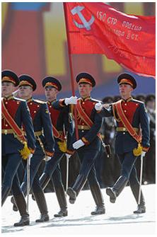 Russian Military Parade... From Jim Paulsen, Ph.D.
